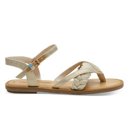 TOMS Lexie Canva Sandal - Natural Shimmer