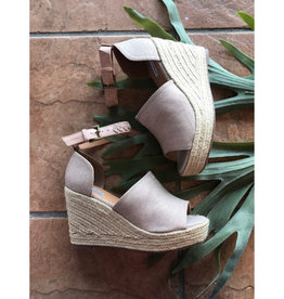 NOT RATED Leif Platform Wedge - Rose Gold