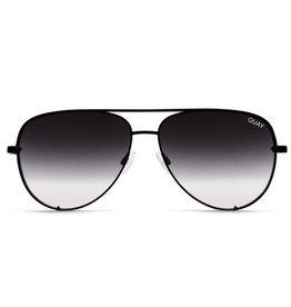 da2c442dce099 High Key Mini Sunglasses- Black Smoke Fade Lens