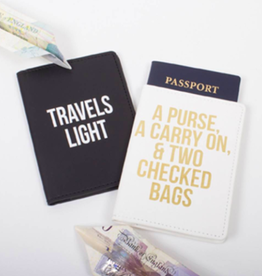 His and Hers Passport Set