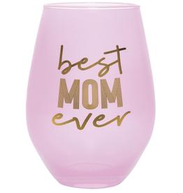 30 OZ Stemless Wine Glass - Best Mom Ever