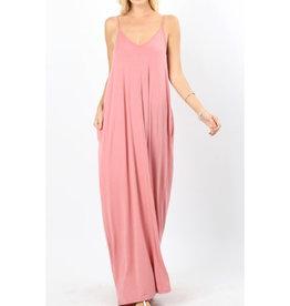 A Lively Love Maxi Dress - Desert Rose