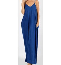 A Lively Love Maxi Dress - Sapphire
