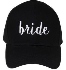 Bride Baseball Cap - Black