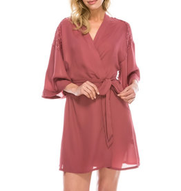 Follow This Love Robe Set- Rose