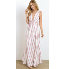 Not Just A Pretty Face Maxi Dress - Apple Blossom