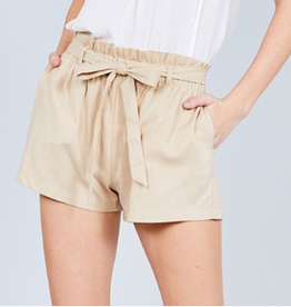 Breaking Wild Paperbag Shorts - Khaki