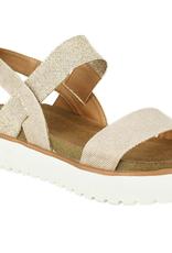 NOT RATED Asuma Platform Sandal - Rose Gold