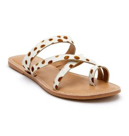 MATISSE Catalina Sandal - White/Brown