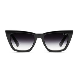 QUAY Don't @ Me Sunglasses - Black/Fade
