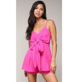 Gotta Get It Romper - Fuschia