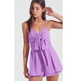 Gotta Get It Romper - Lavender