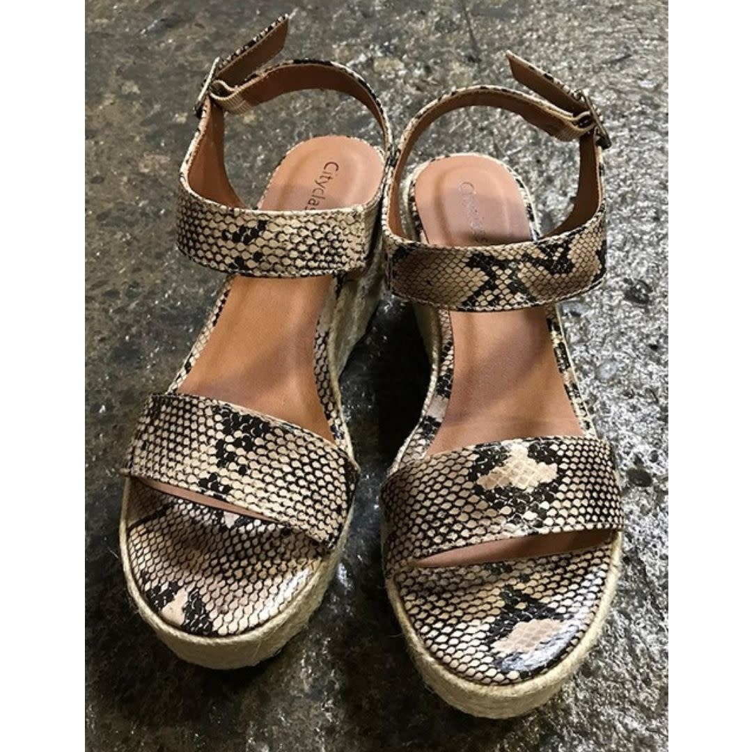 Crash The Party Wedges - Snake