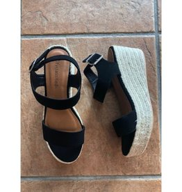 Crash The Party Wedges - Black