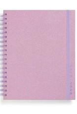 Lilac Glitter Large Agenda