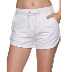 So Sweet French Terry Shorts - White