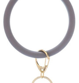 Bangle Key Ring - Grey