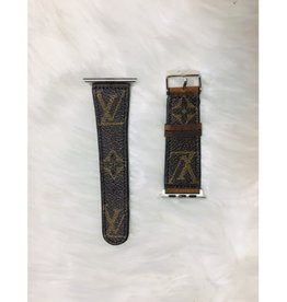 Upcycled LV Apple Watch Band 42mm