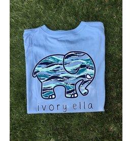 IVORY ELLA Fit Waves - Powder Blue