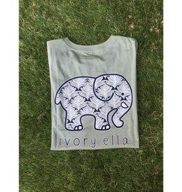 IVORY ELLA Fit Scallop - Lily Pad