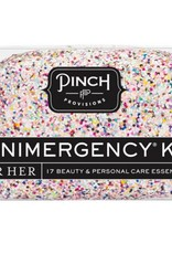 Miniergency Kit for Her - Glitterbomb White Confetti