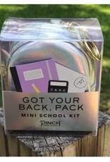 Got Your Back Pack - Silver Hologram