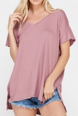 Imagine It Tunic- Light Mauve