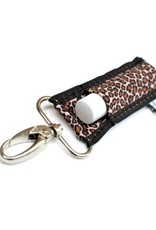 LIPPYCLIP Lip Balm Holder - Leopard