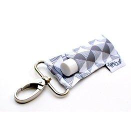 LIPPYCLIP Lip Blam Holder - Grey Geometric
