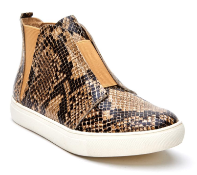 MATISSE Love Worn Sneaker - Tan Snake
