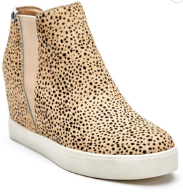 MATISSE Lure Low Wedge Sneaker - Black Spot