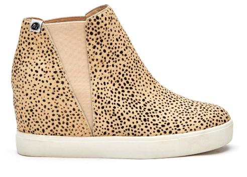 MATISSE Lure Low Wedge Sneaker - Black Spot