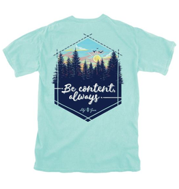 LG-Be Content Always-SS-Chalky Mint