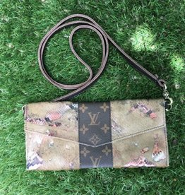 Upcycled LV Little Sweet Treasures - Grungy Acid Rose