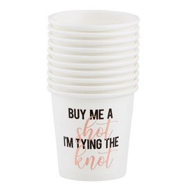 Paper Shot Cups - Buy Me a Drink