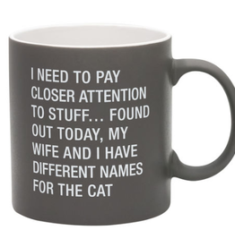 Name For The Cat Mug