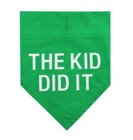 The Kid Did It Bandana