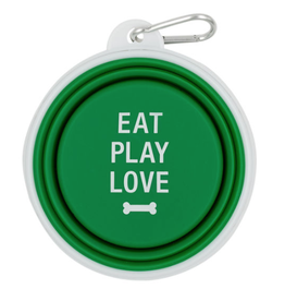 Eat Play Love Silicone Bowl