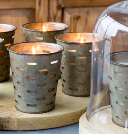 Park Hill  Bucket Candle- Pound Cake Olive