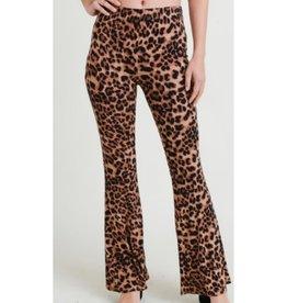 On My Reputation Leopard Print High Waist Pants - Animal