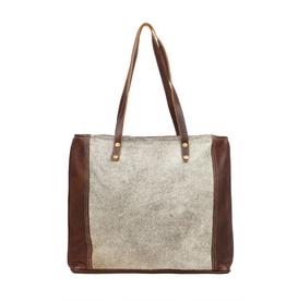 MYRA BAG Silvered Tote Bag
