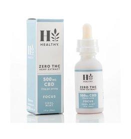 Zero THC Hemp Extract 1500 MG CBD - Relax Cool Mint