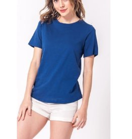 Timeless Attire Crewneck Short Sleeve T-Shirt - Snorkel Blue