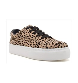 Old School Platform Sneakers - Leopard