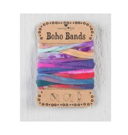 Boho Bands Blooms - Tie-Dye Orange Pink
