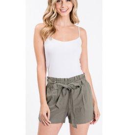 Comfort For Life Shorts - Light Olive