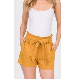 Comfort For Life Shorts - Mustard