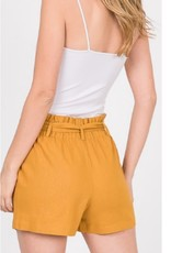 Comfort For Life Shorts - Mustard