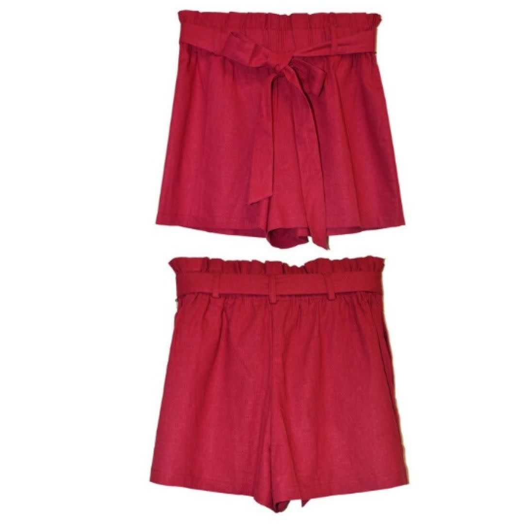 Comfort For Life Shorts - Red
