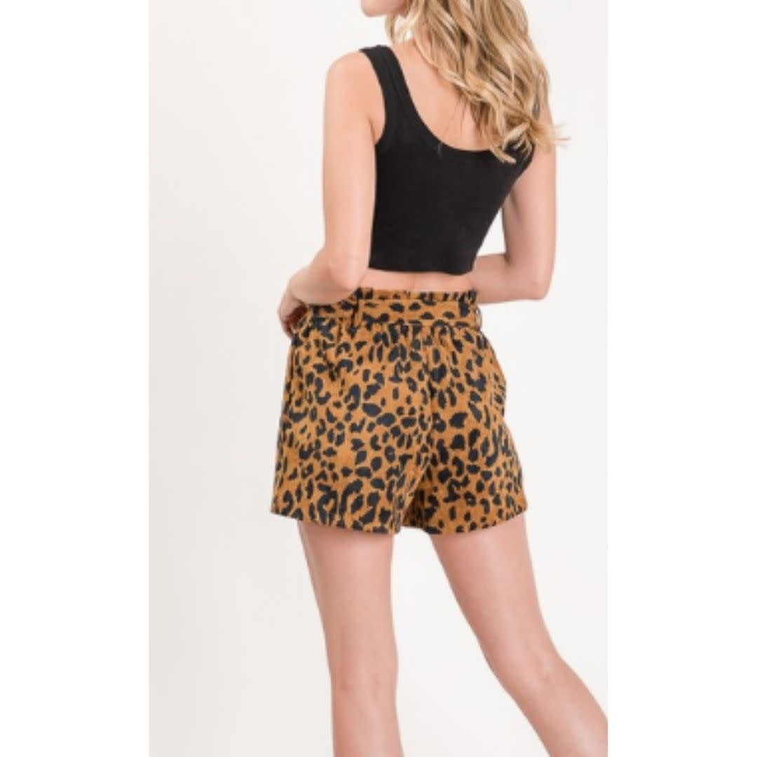 Comfort For Real Shorts - Leopard